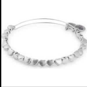 NWT heart beaded Alex and Ani bracelet